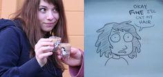 Meredith Gran, author of webcomic Octopus Pie