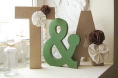 DIY: Home Decor Letters