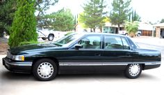 1996 Cadillac Deville It's a different color, but it makes me miss my first car.