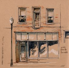 Urban Sketchers: Cathy Johnson