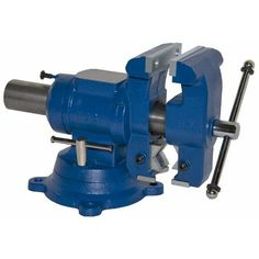 """Yost 5"""" Multi Jaw Rotating Combination Pipe & Bench Vise, great jewler vice big enough to pound on and the reversing pipe head hold ring and bracelet mandrels like it was made for it."""