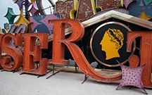 Neon Museum and Neon Boneyard, Las Vegas -- more than 150 historic signs on display