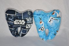 Tooth Fairy Pillows are here!! Starwars, Olaf, Batman, Princesses and Hello…