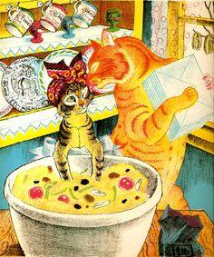 Animalarium: Sunday Safari - Supper's Ready - Orlando the Marmalade Cat by Kathleen Hale
