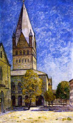 St. Patrokli in Soest painting