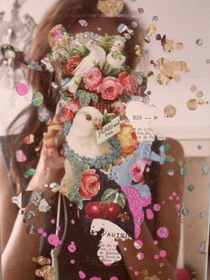 Boho flowers photo collage. Not sure of the source (never sure when it's from tumblr). Love it though.