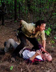 Muerte de Carter. El primero que muere en el capítulo 1 de la temporada 6