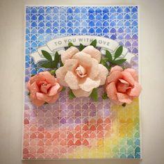 Using Prima flowers.