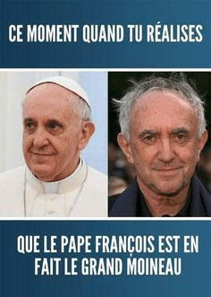 When you realise Pope Francis is actually the High Sparrow