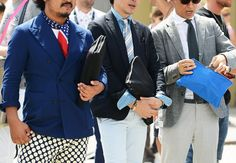 Tommy Ton's Street Style: Pitti Uomo: Style: GQ. You can never have too many blazers!