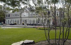 New Home Build – Exterior Rear, Oakville | whitehallhomes.ca
