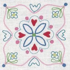 """""""United Stitches - 21"""" designed by Rosalie Dekker for Rosalie Dekkar Designs."""