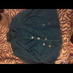 Corduroy teal green jacket. Lane Bryant brand corduroy jacket size 26. Lane Bryant Jackets & Coats Blazers