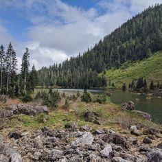 One of Washington state's iconic alpine lakes.  #hiking #mountains #travel