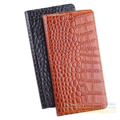 Genuine Leather Crocodile Grain Magnetic Stand Flip Cover For Lenovo Vibe Shot Z90 Z90-7 Luxury Mobile Phone Case + Free Gift