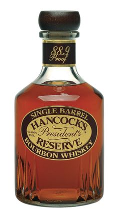 Drink all the bourbon I want. (Hancock's President's Reserve, Buffalo Trace)