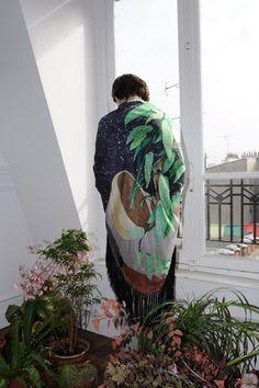 Tamaya (frangé)  Hortus collection FW12  photo: Maxime Ballesteros  Model: Luna Maria Cedron