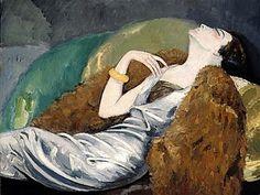 Kees van Dongen, La Femme au canapé, c. 1930
