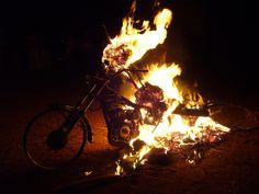 Burning Man at Qu