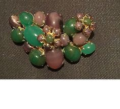 Vintage Brooch Christian Dior 1966 - http://designerjewelrygalleria.com/christian-dior/vintage-brooch-christian-dior-1966/
