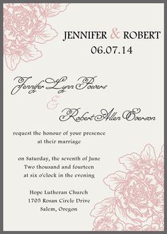 121 Best Blush Soft Pink Peach Rose Color Wedding Invitations Images