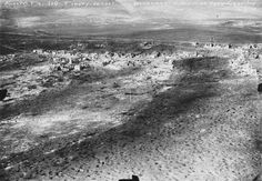 WWI, May 1916, the village of Fleury-devant-Douaumont seen from above. -Paysages en Bataille (@Paysages1914) | Twitter