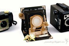 Joanna Krogulec: Old Camera Easel Card