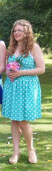 Apple Bridesmaid Dress by Sorbetsurprise www.sorbetsurprise.blogspot.co.uk