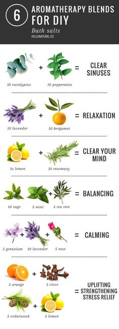 Or add essential oils to make your own aromatherapy bath salts.