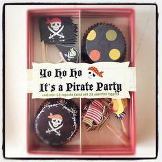 Pirate cupcake kit from www.leilasgeneralstore.com