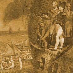 Napoléon à Plymouth
