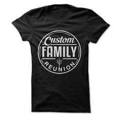 Family tree t shirt template make your own family reunion for Order custom t shirts no minimum