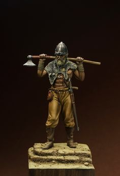 Viking warrior with a battle axe.