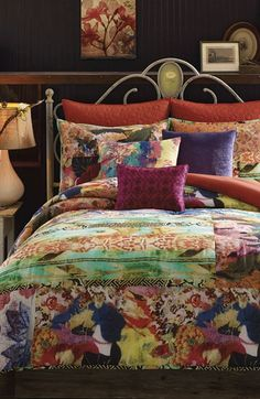 Free shipping and returns on PEM AMERICA Tracy Porter® For Poetic Wanderlust® 'Willow' Comforter Set at Nordstrom.com. <b>Limited Time Savings: Save 20% on selected items for bed, bath and home, now through January 19, 2015.</b><br><br>A patchwork pattern of tapestry-inspired floral prints adds vintage sophistication to a homey comforter and matching shams.