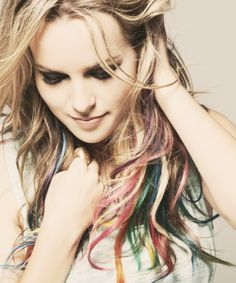 Bridgit Mendler Love Her Hair Colours Bridgit Mendler, Pelo Multicolor, Star Wars, Hair Photo, Crazy Hair, Pretty Hairstyles, Rainbow Hairstyles, Hair Looks, Her Hair