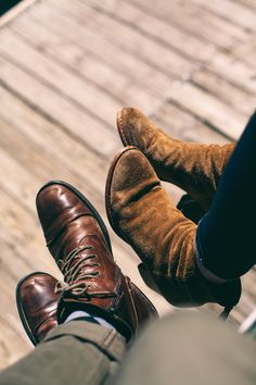 THOSE BOOTS! via eternalyouthco: Eternal Youth Co. Photo by: Evan Perigo Me Too Shoes, Men's Shoes, Shoe Boots, Dress Shoes, Ankle Boots, Fashion Mode, Womens Fashion, Male Fashion, Fashion News