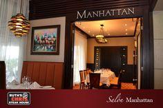 Nuestro segundo salon privado, Manhattan. Ideal para una cena privada o reunion de negocios!