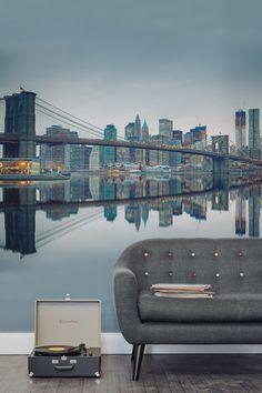 new york landscape wall mural muralswallpaper co uk room ideas