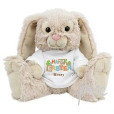 Personalised Easter Bunny - Perfect Gift or Present for Easter Baby Girl or Boy for daughter grandaughter sister niece Goddaughter son grandson
