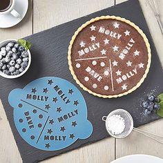 Couples Cake Stencil