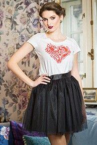 Tinuta Cupid Skater Skirt, Lace Skirt, Style Inspiration, Superhero, Textile, Skirts, Vintage, Spring, Skater Skirts