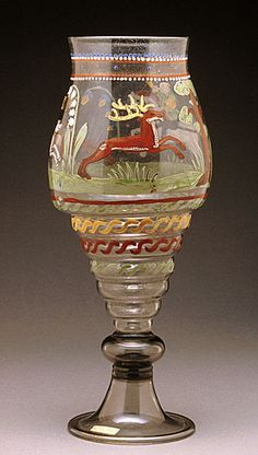 Jagdglas Bohemia, 1585 The Los Angeles County Museum of Art