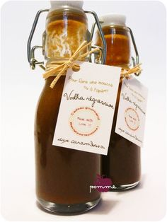 ..Cadeaux gourmands 2011 : Vodka carambar..