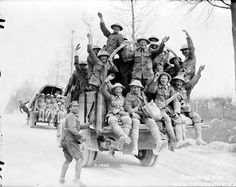 These solider returned from war, they risked their life protecting our country. Which show Canadian soldiers are brave. Kevin H CHC2P1-15