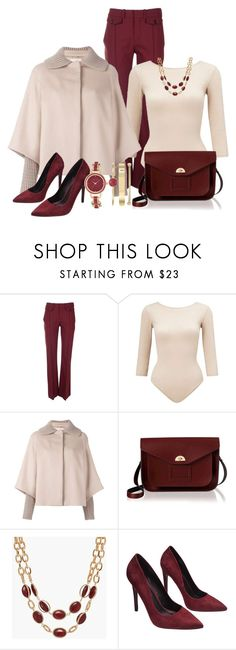 """""""Winter Professional Wardrobe Capsule: Outfit 28"""" by vanessa-bohlmann ❤ liked on Polyvore featuring Chloé, Miss Selfridge, Christopher Kane, The Cambridge Satchel Company, Talbots, Wet Seal and Anne Klein"""
