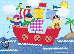 Pirate ship - Noopur Thakur