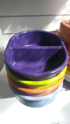 Top to toe wash bowl -various colours -£5.50