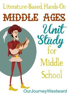 The study of Medieval times is made even more fascinating with living literature and hands-on activities appropriate for middle school students!