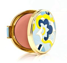 """Estee Lauder Mad Men See Through Blush in """"Light Show""""(Spring 2013) lol expensive, i like the case"""