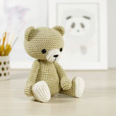 PATTERN: Classic teddy bear